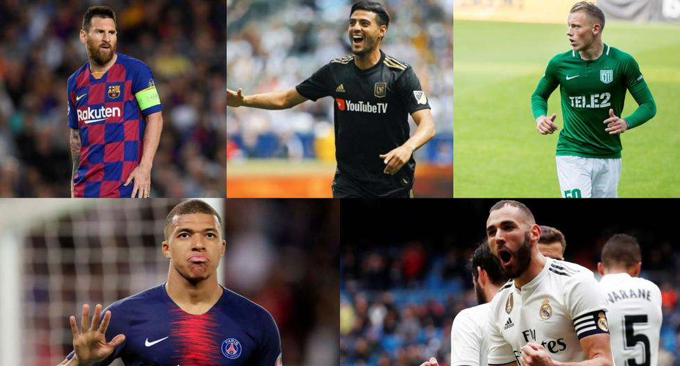 Solo uno puede ser el número 1: el top 20 de los máximos goleadores del año 2019 en el mundo [FOTOS]