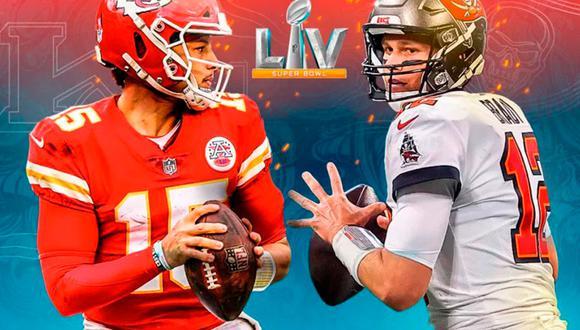 Chiefs vs Bucs en vivo y en directo online vía ESPN. Conoce los horarios y cómo ver el partido de Super Bowl desde  cualquier dispositivo móvil. (Foto: NFL