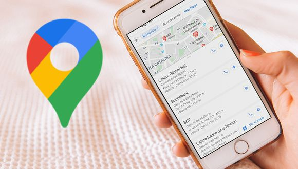 ¿Quieres encontrar un cajero cerca a tu casa que funcione? Así puedes hacerlo con Google Maps. (Foto: Google)