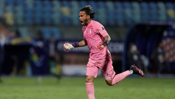 Pedro Gallese registra 65 partidos con la Selección Peruana en la 'era Gareca' (EFE/Joedson Alves)