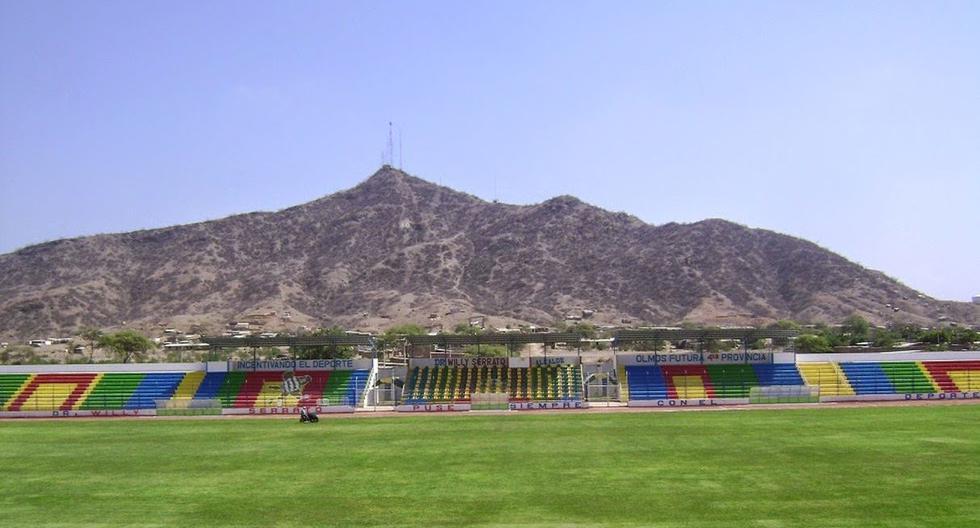 Así luce el estadio de Olmos, en donde jugará Alianza Lima vs. Pirata FC. (Foto: Internet)