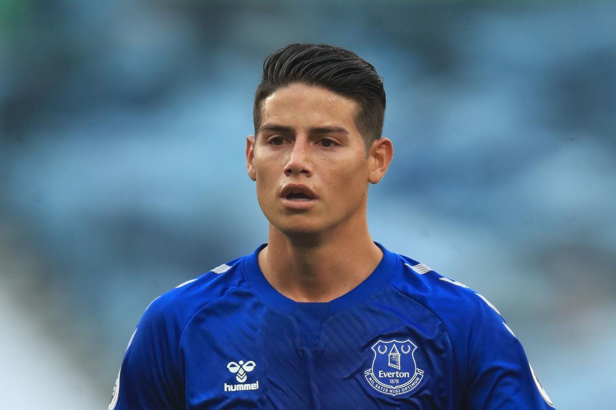 James Rodríguez es duramente criticado por su rendimiento en Everton   NCZD    FUTBOL-INTERNACIONAL   DEPOR