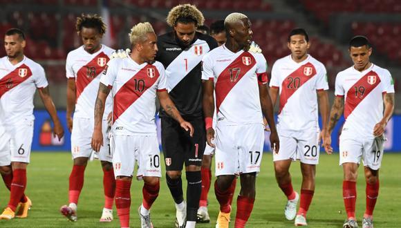Chile vs. Perú se enfrentaron por las Eliminatorias Qatar 2022. (Foto: EFE)