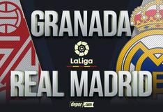 Ver Real Madrid vs. Granada EN VIVO por LaLiga: ESPN transmite online