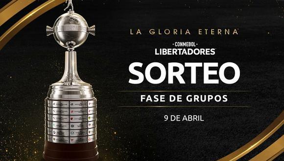Se viene el sorteo de la Copa Libertadores 2021. (Fuente: CONMEBOL)