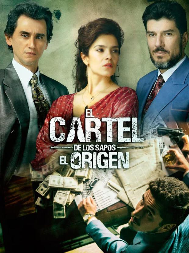 "Afiche oficial de ""El Cartel de los Sapos: El origen"" (Foto: Caracol TV/Netflix)"