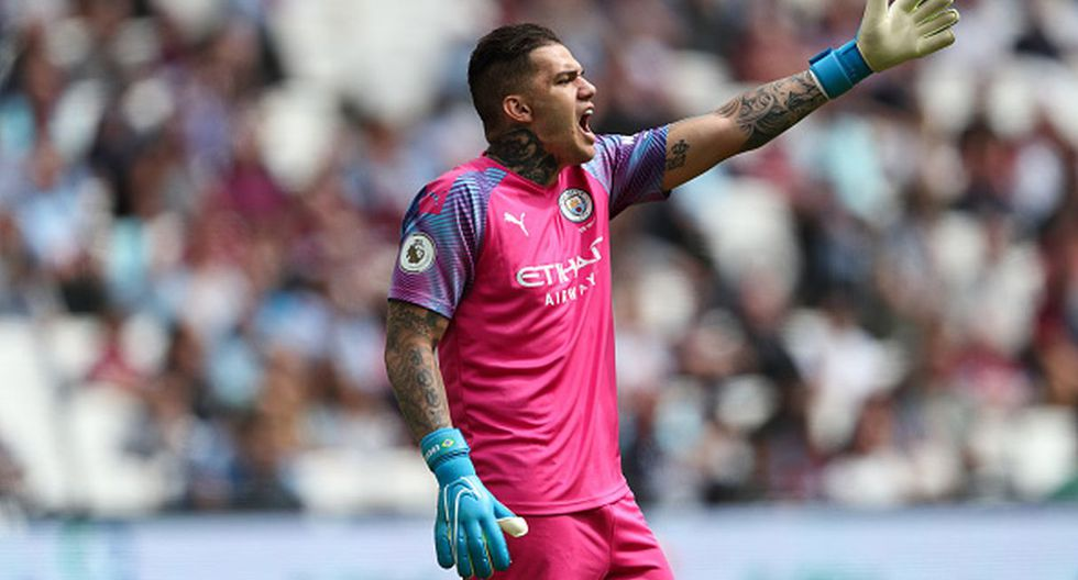 Ederson   Manchester City. (Getty Images)