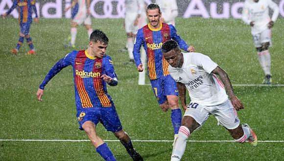 Real Madrid y Barcelona son de los clubes fundadores de la Superliga europea. (Getty)