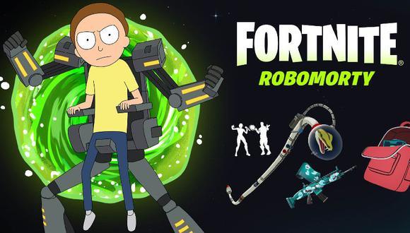Fortnite Temporada 7: precio y cómo comprar el skin Robomorty