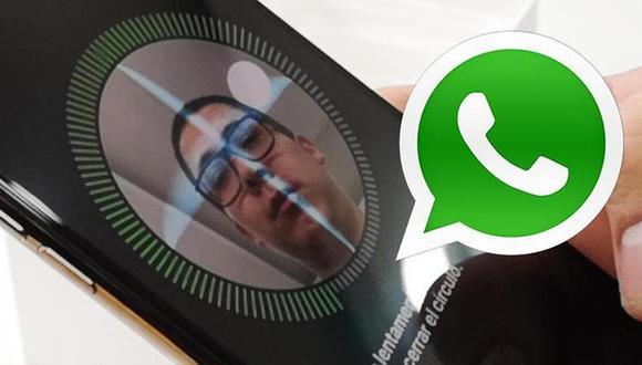 De esta manera podrás desbloquear tus conversaciones con tu rostro en WhatsApp. (Foto: Enter.co)