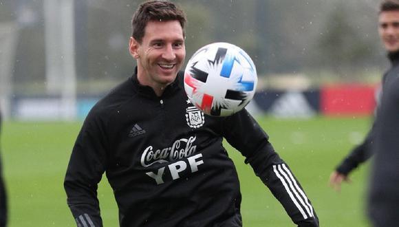 Lionel Messi comparte su felicidad en la selección de Argentina. (Foto: Instagram)