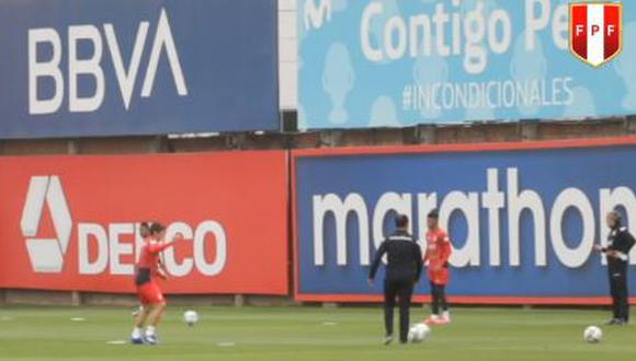 La Selección Peruana arrancó los entrenamientos en la VIDENA. (Captura)