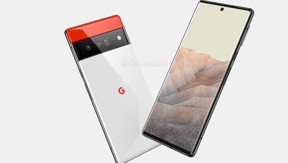 ¿Cuánto se venderá el Google Pixel 6 y Pixel 6 Pro? Conoce sus características filtradas. (Foto: Onleaks)