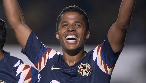 Giovani Dos Santos no ha tenido la continuidad que quería en el América de México. (Foto: AFP)