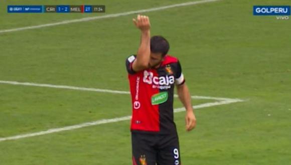 Bernardo Cuesta anotó el segundo para Melgar. (GOLPERU)