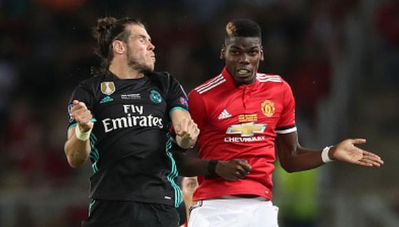 Bale y Pogba podría intercambiar camisetas para enero. (Getty Images)