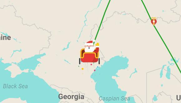 ¿Quieres seguir a Papá Noel el 24 de diciembre con tus hijos? Usa esta opción de Google Maps. (Foto: Santa Tracker)