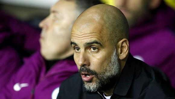 Pep Guardiola es entrenador del Manchester City desde la temporada 2015/16. (Getty)