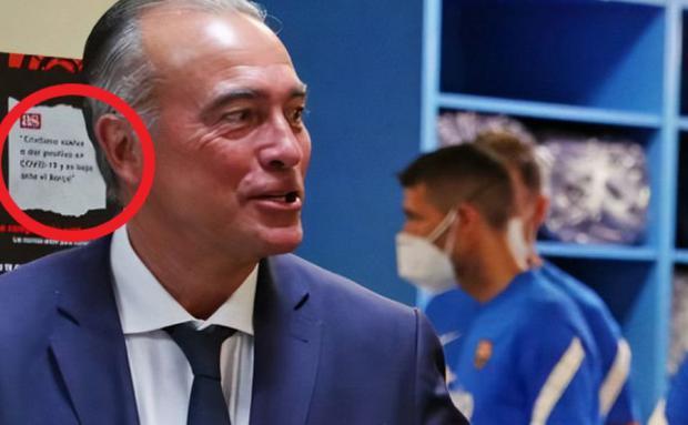كريستيانو رونالدو متواجد في غرفة ملابس برشلونة 1