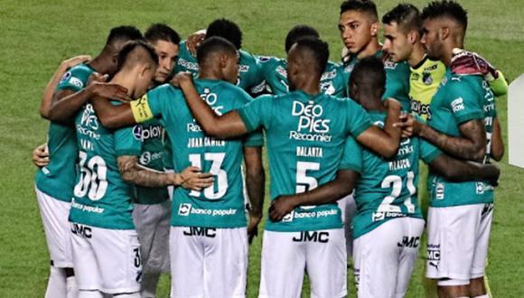 Deportivo Cali vs. Tolima se vieron las caras este martes por la Copa Sudamericana 2021 (Foto: @AsoDeporCali)