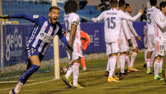 Real Madrid tuvo gran gesto con Alcoyano. (Foto: Agencias)