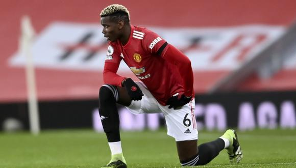 Paul Pogba termina contrato con Manchester United en el verano de 2016. (Foto: Getty)