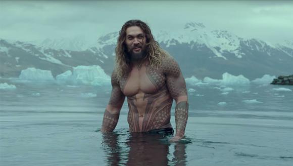 """Jason Momoa da vida a Aquaman, aunque comete un grave error en """"Justice League"""" (Foto: Netflix)"""
