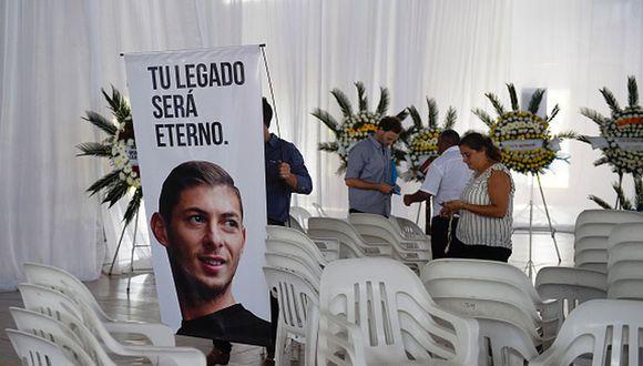 Emiliano Sala desapareció el pasado 21 de enero en el Canal de la Mancha. (Getty)