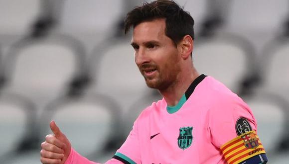 Lionel Messi selló el triunfo de Barcelona sobre Juventus, con un gol de penal. (Foto: AFP)