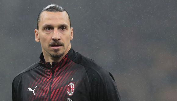 Zlatan Ibrahimovic juega como delantero en el AC Milan de la Serie A italiana. (Foto: Getty Images)