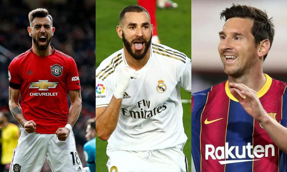 Manchester United, Real Madrid y Barcelona comandan la lista de clubes que más reciben por el patrocinio en su camiseta. (Fotos: Agencias)
