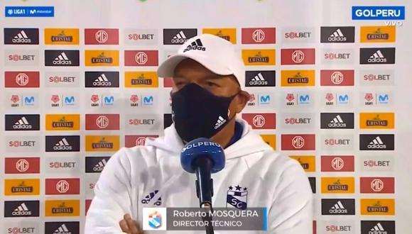 Roberto Mosquera explica las razones de la derrota ante Atlético Grau