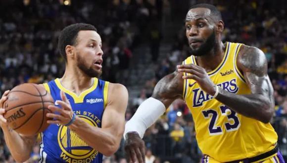 A qué hora juegan Lakers vs. Warriors y en qué canal por NBA Play-In 2021 desde Los Ángeles. (NBA)