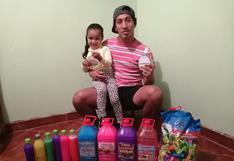 Rendirse jamás: Sheu Obregón, el futbolista que vivió dos dramas este año y hoy vende utensilios de limpieza