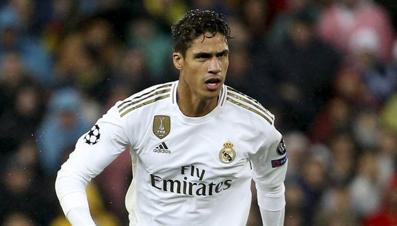 Raphael Varane tiene contrato con el Real Madrid hasta junio de 2022. (AFP)