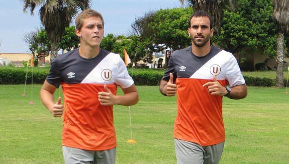 Patrick Zubczuk y José Carvallo volverán a pelear por la titularidad en el arco crema. (GEC)