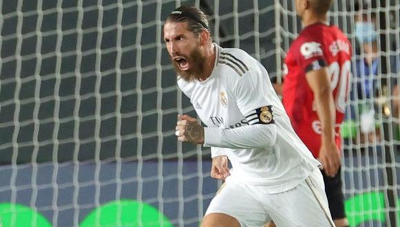 Sergio Ramos acaba contrato con Real Madrid en junio de este año. (Foto: EFE)
