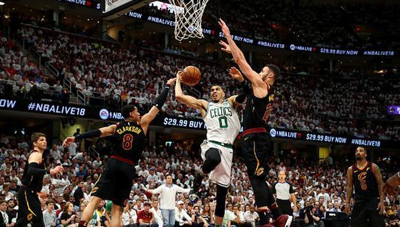 Cavaliers vencieron a Boston y forzaron al séptimo juego. (Getty)