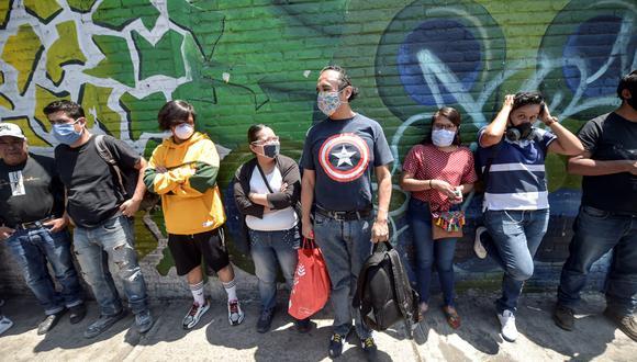 México espera alcanzar su pico en la epidemia del coronavirus el próximo viernes 8 de mayo. (Foto: AFP/PEDRO PARDO)