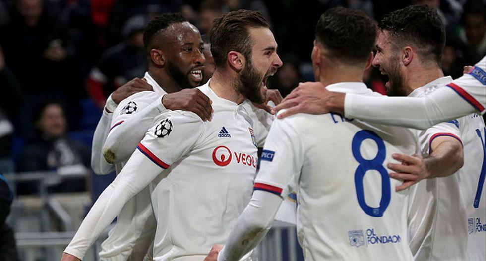 Lyon sorprende a Juventus y se adelanta en los octavos de final de la Champions League. (Getty Images)