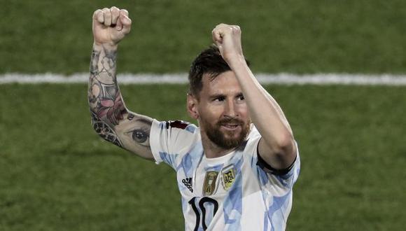 Lionel Messi, el jugador más incluyente de la selección de Argentina. (Foto: AFP)