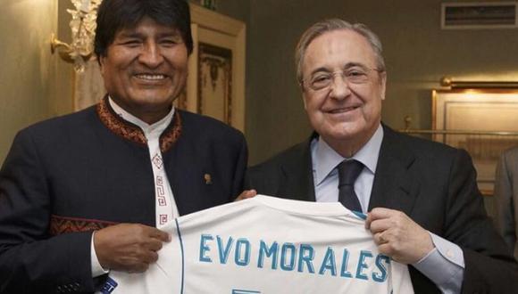 Morales y Pérez ya estuvieron juntos en septiembre de 2013 en el Bernabéu.