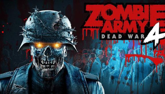 Portada de Zombie Army 4
