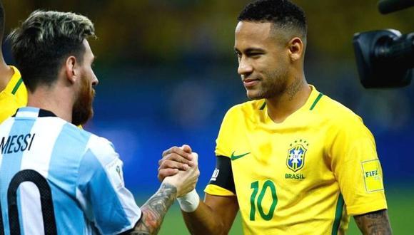 Lionel Messi y Neymar jugarían un partido amistoso en setiembre. (Foto: AFP)