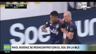 MLS: Raúl Ruidíaz anota un nuevo gol con el Seattle Sounders
