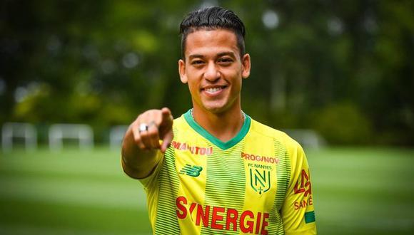Cristian Benavente llevará la 10 del Nante francés. (Foto: @FCNantes)