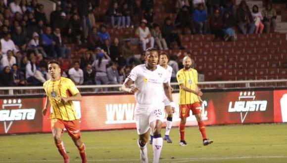 Liga de Quito empató 0-0 contra Aucas por semis y peleará por el título de Ecuador. (Foto: Twitter)