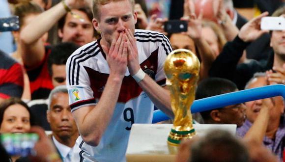 André Schurrle ganó el Mundial 2014 en Brasil tras asistencia a Götze. (Getty)