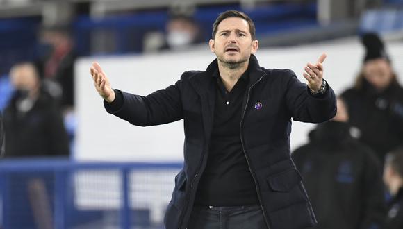 Frank Lampard ha ganado solo un partido de los últimos seis con el Chelsea. (Foto: AP)