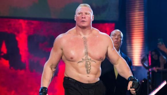 Brock Lesnar terminó su contrato con WWE y se convirtió en agente libre. (WWE)